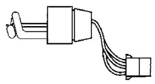 FEDS K8107159A STROBE TUBE