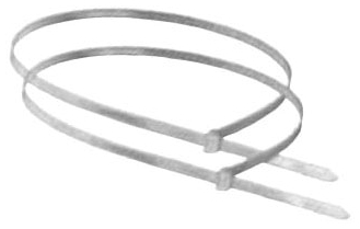 8901180 DN48N 48in TIE BANDS (CLEAR) 50 PER BAG