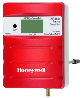 Honeywell P7640B1024 Duct Differential Pressure Transmitter, 0-1