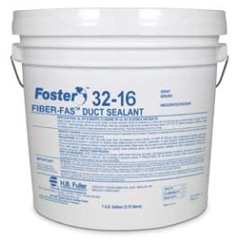 Foster FIBER-FAS 32-16 Duct Sealant Gray 1 Gallon