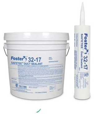 Foster SAFETEE 32-17 Duct Sealant Gray 1 Gallon