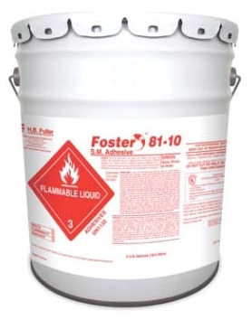FOSTER 81-10 SM ADHESIVE 1 GALLON GREEN 36-8110-0001 FLAMMABLE 4/CTN
