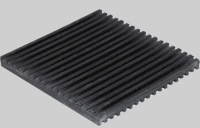 4780347 6433 3in X 3in ALL RUBBER VIBRATION PAD