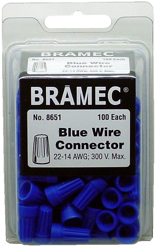 2395020 BLUE WIRE NUT 100/BX (10-102-H)