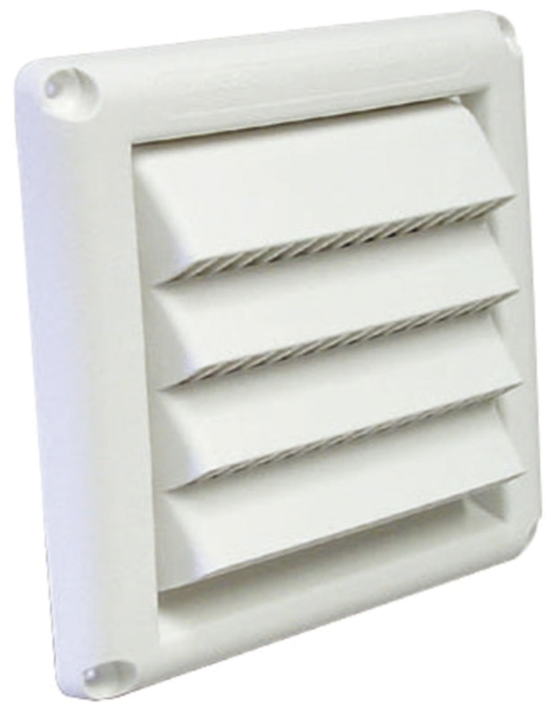 7831146 HSM4W 4in WHITE SOFFIT VENT HOOD