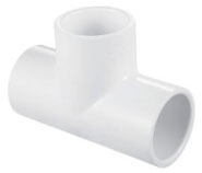 5926252 PVC 1/2in PVC SCH-40 TEE