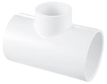 DA23402 PVC 402-334  3X3X3/4 FIPT REDUCING TEE
