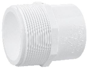 5926280 PVC 3/4in MPT X 1/2in SLIP PVC ADAPTER
