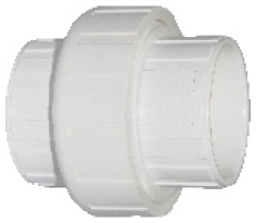 DA70818 PVC 497-007  PVC 3/4in UNION
