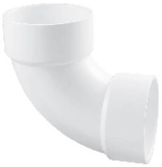 5922130 PVC 2in ID 90DEG 1/4 BEND ELBOW