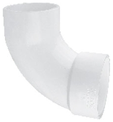 5922127 PVC 2in ID 90DEG STREET ELBOW