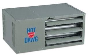 3162075 HD 75A MODINE (LP) HOT DAWG UNIT HTR