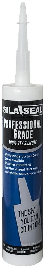 7602350 1233-100 11 OZ RTV CLEAR SILICONE CAULK