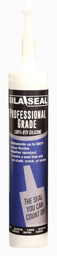 7602360 1233-106 11 OZ RTV WHITE SILICONE CAULK