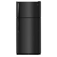 <D> FRIGIDAIRE FFHI1832TE 30 18CF TOP FREEZER REFRIGERATOR ENERGY STAR TOP MOUNT BLACK