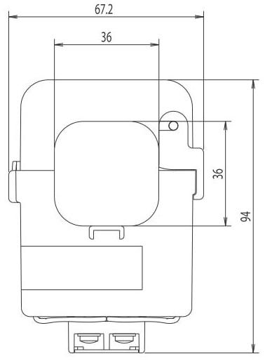 Mitsubishi Electric EMU-CT600-A