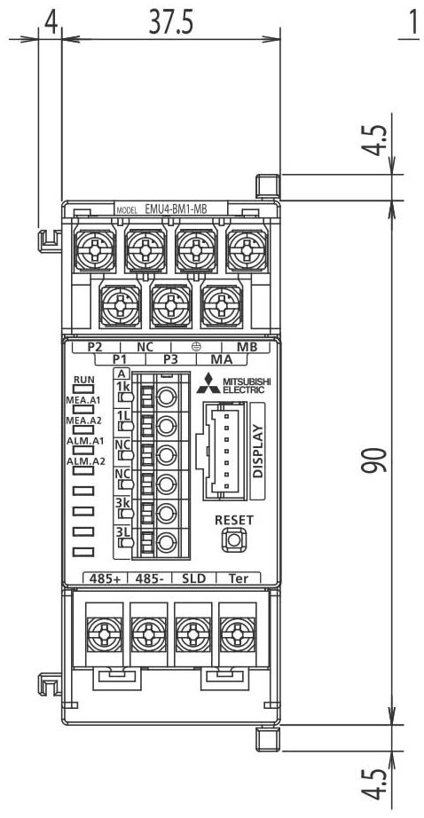 Mitsubishi Electric EMU4-BM1-MB