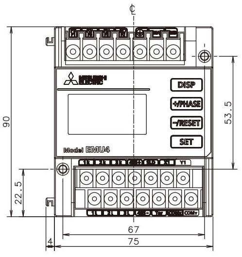 Mitsubishi Electric EMU4-HD1-MB