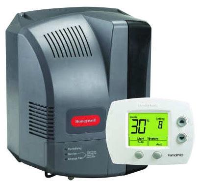 Evaporative humidifiers
