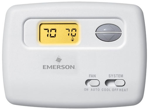 W-R1F78-144 24v/millivolt 2-wire Single Stage Battery Powered Non-programmable Digital Thermostat 1h-1c 45-90f Horizontal Mount Replaces 700 Retail #