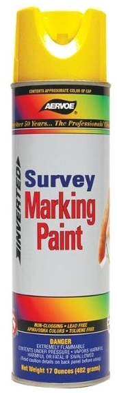 AERVOE 210 SILVER MARKING PAINT 20 OZ. UPSIDE DOWN [12/CS]