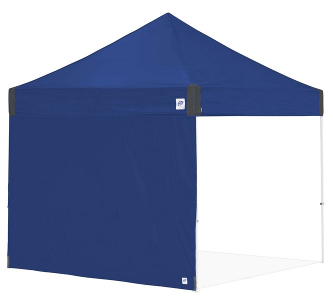 EZ-UP SW3RB10ALGY SIDE WALL 10' BLUE WITH STRAPS FOR ANGLE SLANT LEG [SRA104TCBL]