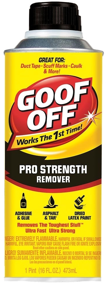 GOOF-OFF FG653 16OZ. POUR STYLE CAN THE ULTIMATE REMOVER PART# 022-020 [OLD # FG654]