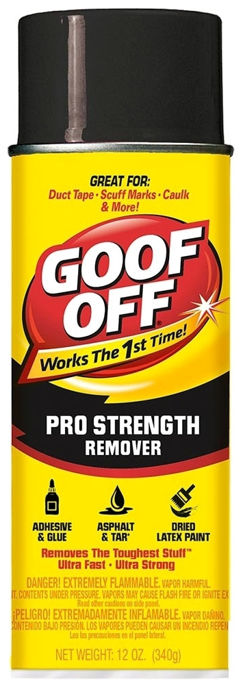 GOOF-OFF FG658 12 OZ. AEROSOL SPRAY CAN THE ULTIMATE REMOVER [84617]