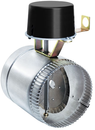 Gas vent dampers