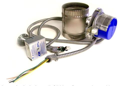 Oil vent dampers
