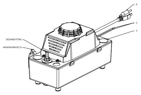 Z-519-0005 115V 1PH CONDENSATE PUMP W/ ALARM ZOELLER (REPLACED BY Z-521-0006)