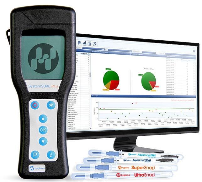 HYG SS3 7 CM x 18 CM x 3 CM, Small, Lightweight, Handheld Instrument, SystemSURE Puls ATP Sanitation Monitoring System
