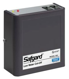 Hydrolevel Safgard™ Boiler Low Water Cut-Off with Manual Reset, 24 VAC 60 Hz, 2 VA, 160 PSI, SPDT, Water Media