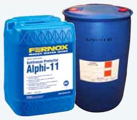 Fernox Anti-Freeze Protector, 5 Gallon, Drum, Mono Propylene Glycol