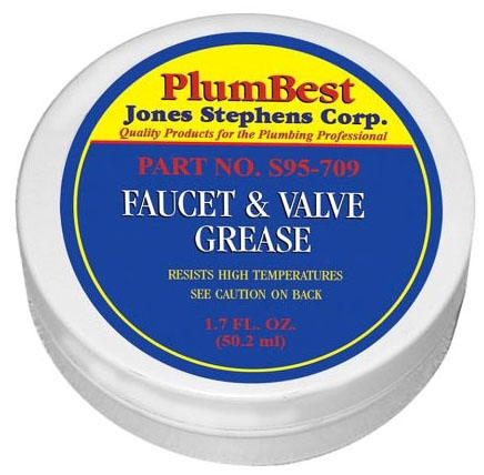 Jones Stephens Faucet and Valve Grease, 2 Oz