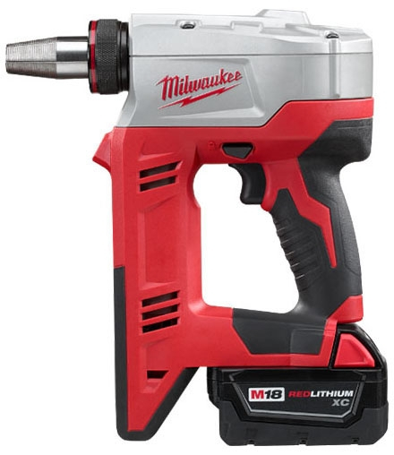 "Milwaukee Tool M18™, ProPEX® Expansion Tool Kit, 18 V, 3/8 to 1-1/2"" Capacity, 45 SPM, Cordless, Auto-Rotating, D-Handle"