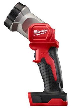 "Milwaukee Tool M18™ Work Light, 8.5"" L, 18 V, 100 Lumen, 135D Rotating Head, Aluminum, LED, Cordless"