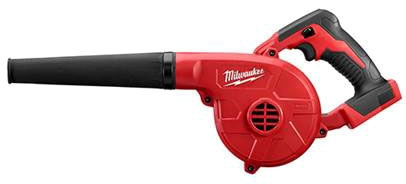 Milwaukee Tool M18™ Compact Blower, 18 V, 100 CFM, 160 MPH, 3-Speed Electronic, Cordless, Compact