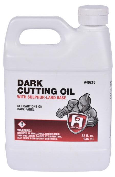Hercules Cutting Oil, 1 Quart, Can, Dark, Liquid