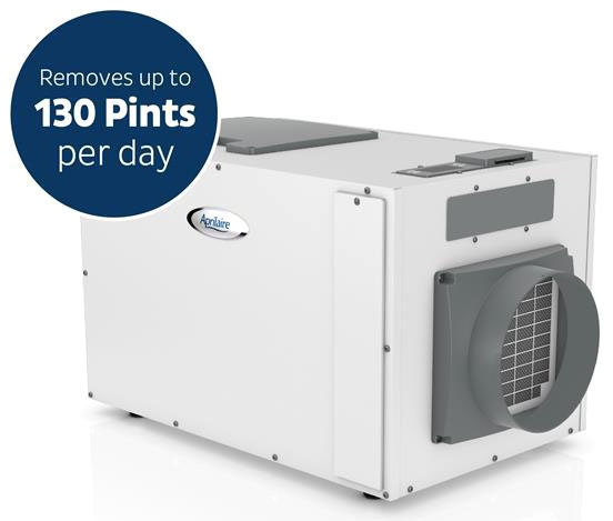 Aprilaire 1870 Dehumidifier, 130 Pints/Day