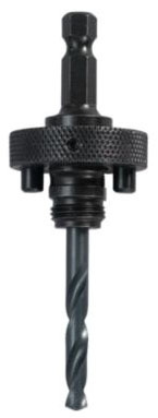 "Lenox Tools Pilot Drill for 1L/4L Hole Saw Arbor, 4-1/4"", 1/4"" Chuck, Hardened Carbon Steel, Split Point"