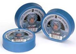 "Clean-Fit Blue Monster® Thread Sealing Tape, 1"" x 1429"" x 0.0035"", 10000 PSI, Blue, PTFE"