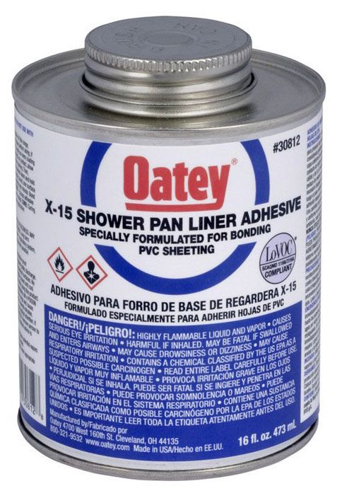 Oatey LO-VOC X-15™ LO-VOC X-15™ Solvent Cement, 16 Oz, Can, Green, Liquid, Medium