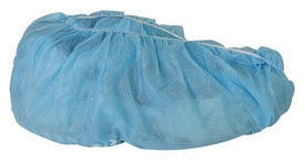 "Tomahawk Disposable Shoe Cover, 5 to 15"", Blue, Spun Polypropylene"
