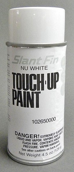 Slant/Fin Fine/Line® Baseboard Touch-Up Paint, 4.5 Oz, Can, Nu-White, Touch-Up