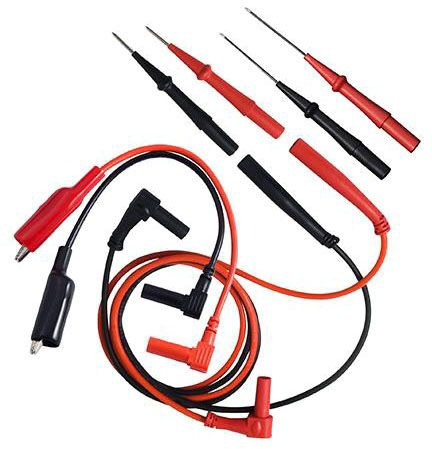 Fieldpiece Test Lead Kit, Red/Black, Silicone Insulation, Deluxe