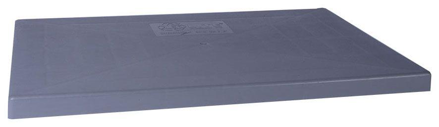 "DiversiTech E-Lite 18"" x 38"" x 3"" Equipment Pad (Gray)"