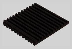 "DiversiTech Rubber  Anti-Vibration pad - 3"" x 3"" x"
