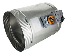 "iO HVAC Controls MD-04 MD Series 4"" Round (3) Wire Damper PO/PC"