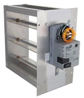 iO HVAC Controls MD-0806 MD Series 08x06 (3) Wire Damper PO/PC